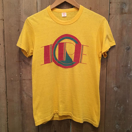60's SOUTHERN ATHLETIC Tee YELLOW