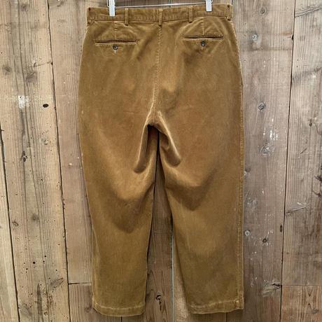90's~ Polo Ralph Lauren Corduroy Slacks TAN  W 36