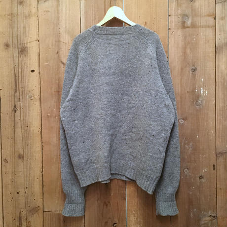 70's Pendleton Shetland Wool Sweater BLUE GRAY