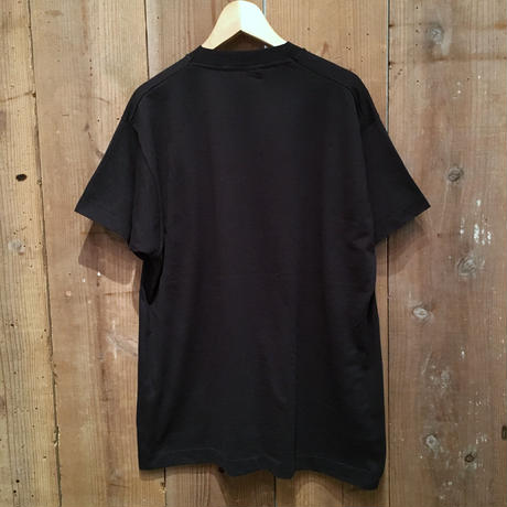 80's SCREEN STARS Plain Tee BLACK  L