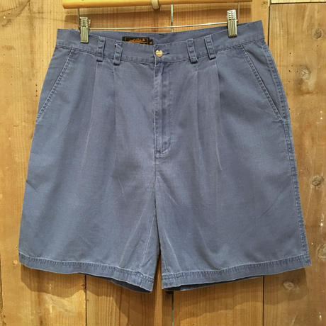80's Eddie Bauer Cotton Ripstop Two Tuck Shorts