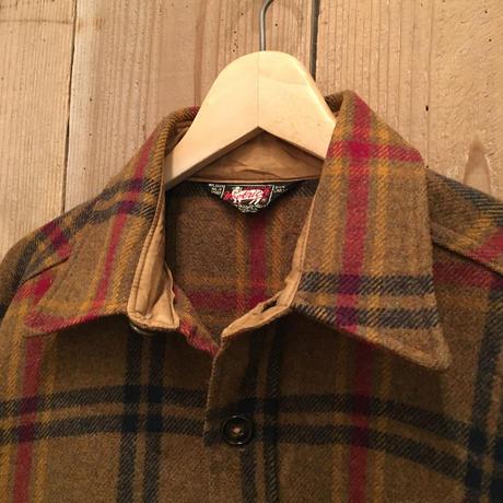 60's Woolrich Wool Shirt Jacket