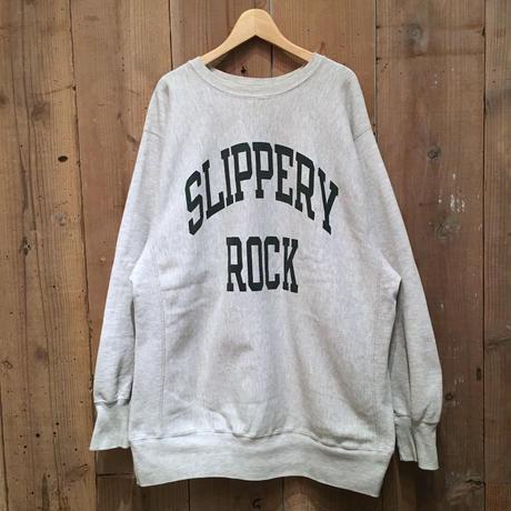 90's Champion Reverse Weave Sweatshirt SLIPPERY ROCK