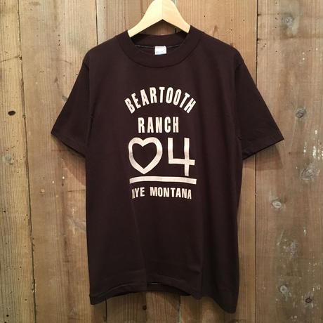 80's sportswear BEARTOOTH RANCH Tee