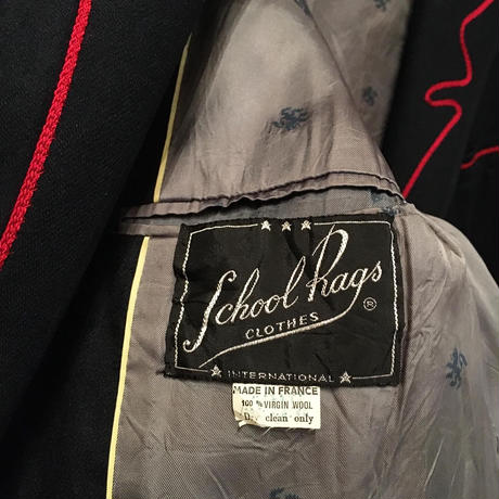 ~70's School Rags Stitched Jacket