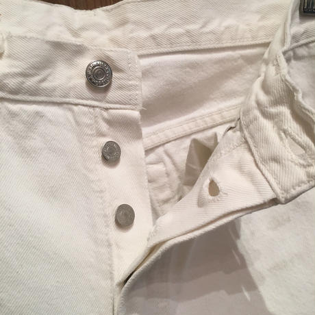 90's Levi's 501 WHITE Denim Pants W:32
