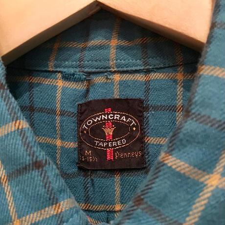 60's TOWNCRAFT Cotton B.D Shirt