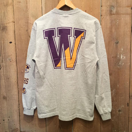 90's~ JANSPORT Printed L/S Tee
