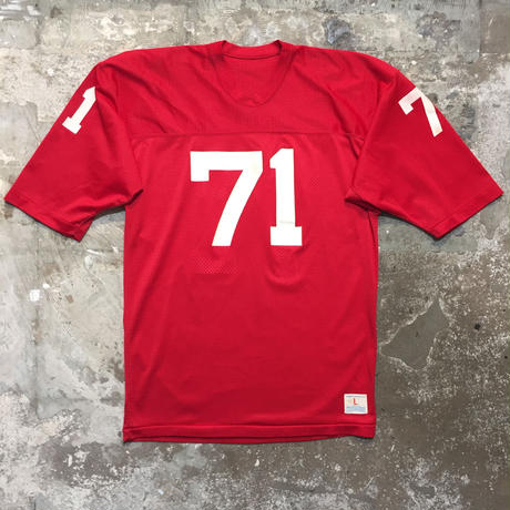 70's Champion Mesh Football Jersey RED