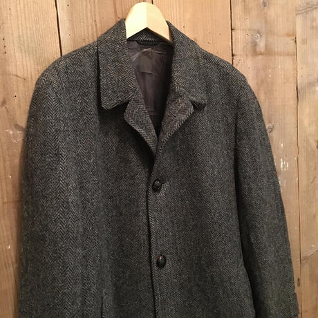 70's~ Sears Harris Tweed Coat