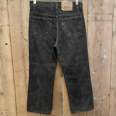 90's Levi's 517 Black Denim Pants  W 30