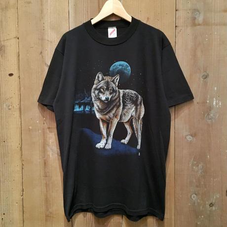 80's~ JERZEES Wolf Tee L