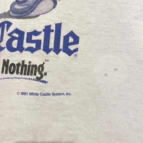 90's FRUIT OF THE LOOM White Castle Tee