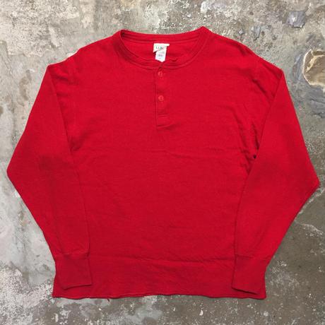 90's L.L.Bean Cotton Wool Henry Neck Shirt