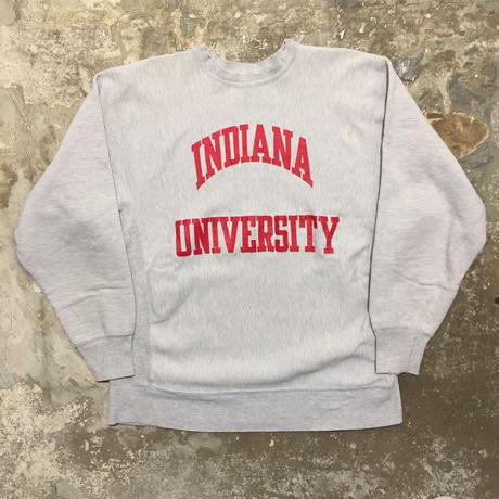 80's Champion REVERSE WEAVE Sweatshirt INDIANA.U (SIZE : XXL)