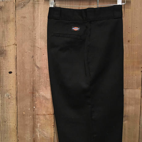 90's Dickies Work Pants BLACK  W : 36
