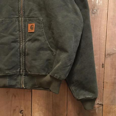 90's Carhartt Active Jacket  GREEN