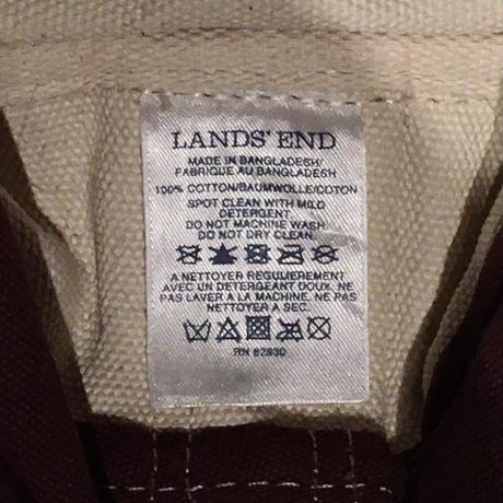 LANDS' END Canvas Tote Bag  MEDIUM