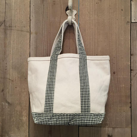 90's LANDS' END Canvas Tote Bag  SMALL
