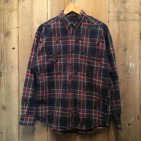 ~90's Eddie Bauer Printed Flannel Shirt