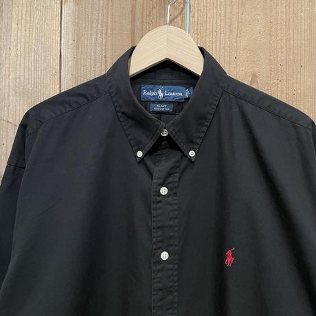 "Polo Ralph Lauren ""BLAKE"" B.D. Cotton Shirt BLACK"
