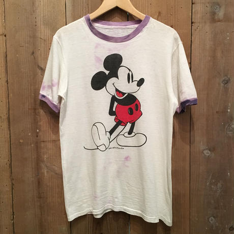 70's Mickey Mouse Ringer Tee