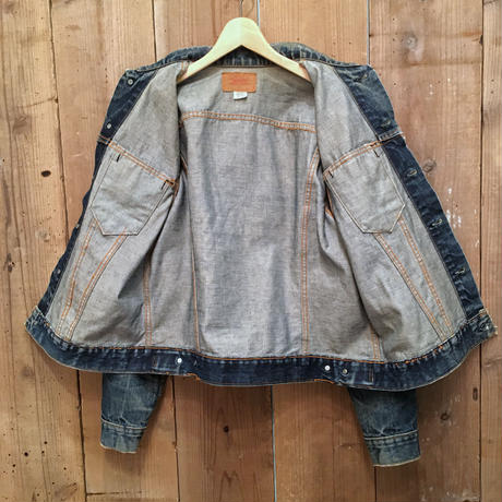 ~70's LEVI'S 70505 Denim Jacket  # 1