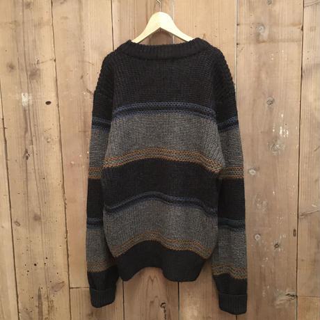 90's~ BOSTON TRADERS Striped Wool Sweater