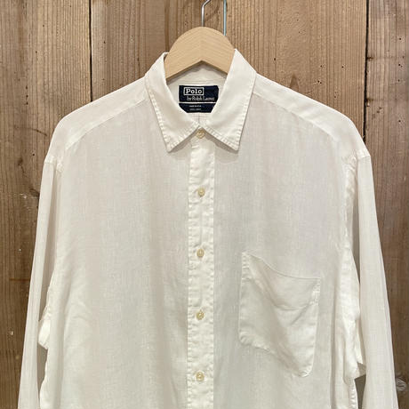 90's Polo Ralph Lauren Linen Shirt