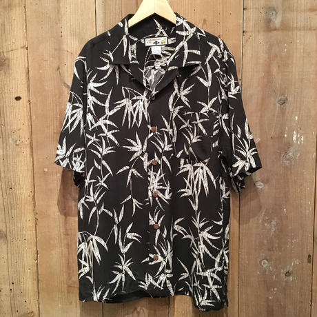 CARIBBEAN JOE Silk Aloha Shirt