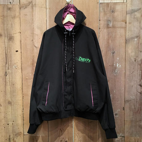 80's King Louie Pro Fit Chevy's Hooded Jacket