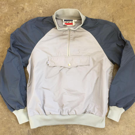 70's~ Levi's Half Zip Nylon Jacket