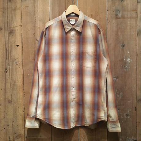 J.CREW Shadow Plaid Cotton Shirt