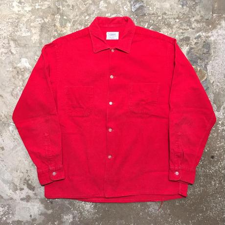 60's BRENT Corduroy Shirt