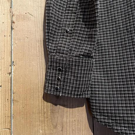 ~90's Flying Ranchwear Cotton Western Shirt