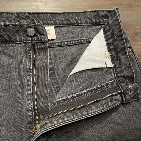 90's Levi's 505 Black Denim Pants  W 38