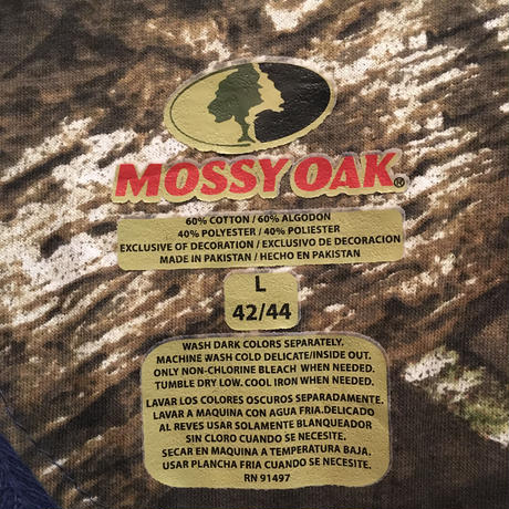 MOSSY OAK Waffle Henry Neck Shirt