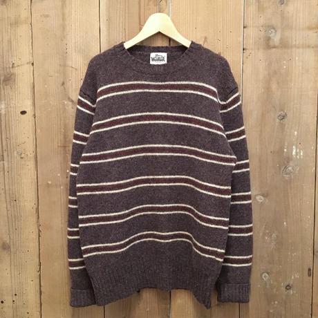 80's Woolrich Striped Wool Sweater