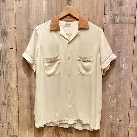 60's Hilton  Rayon Bowling Shirt