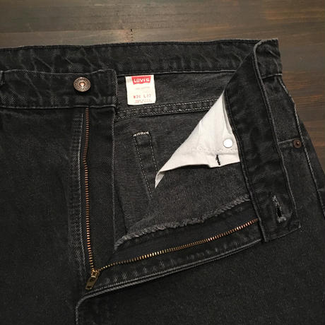 90's Levi's 505 Black Cotton Pants  W 36  #3