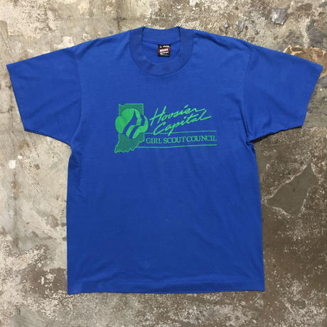 90's FRUIT OF THE LOOM GIRL SCOUT Tee