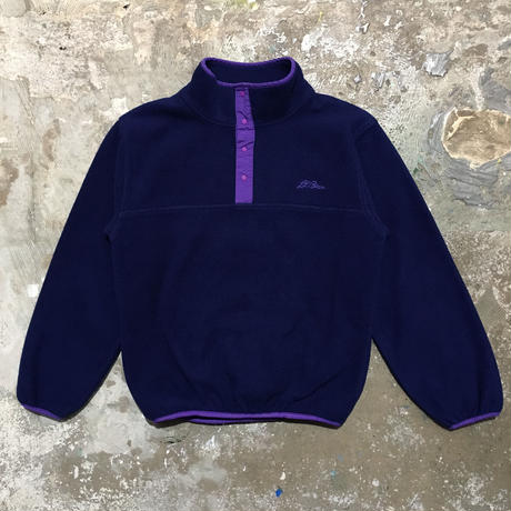 90's L.L.Bean Snap Fleece Jacket