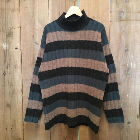90's~ J.CREW  Mock Neck Wool Sweater