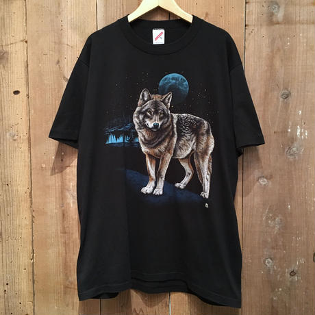 80's~ JERZEES Wolf Tee XL