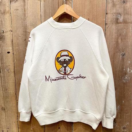80's Velva Sheen Minnesota Gopher Sweat Shirt