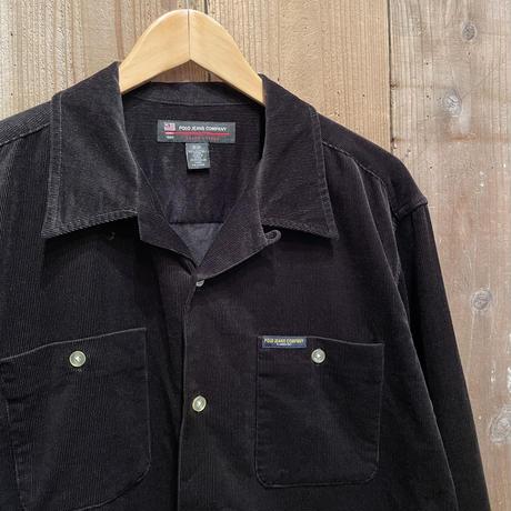 90's POLO JEANS COMPANY Corduroy Shirt