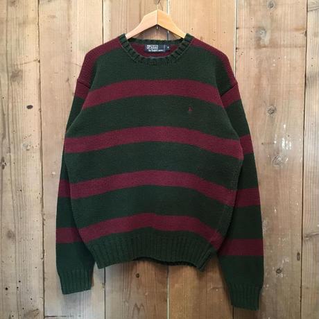 Polo Ralph Lauren Cotton Knit Striped Sweater