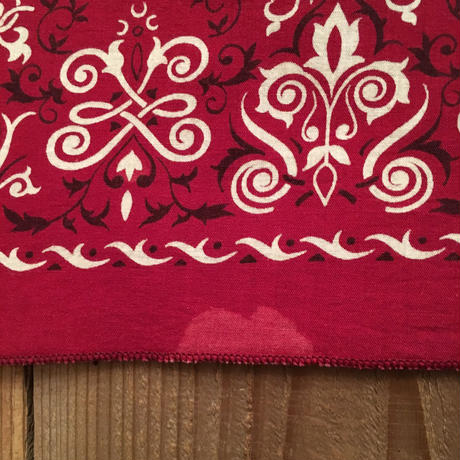 Old Bandana RED  #6