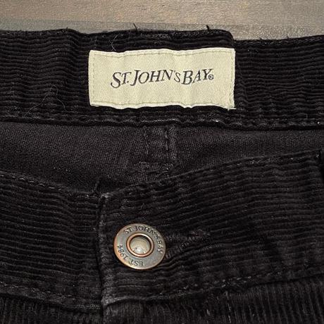 ST.JOHN'S BAY 5Pocket Corduroy Pants W:34
