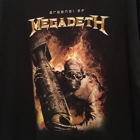 2006 arsenal of MEGADETH  Tee